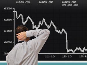 Finanzkrise an der Börse