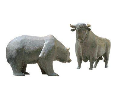 Bär und Bulle